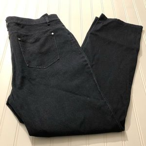 Lafayette 148 high rise bootcut jeans, size 12